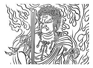 transcribing buddha image