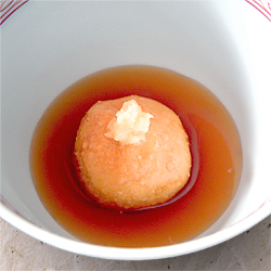 慈姑団子(くわいだんご)