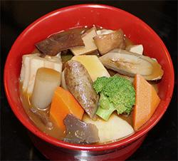 秋の野菜汁