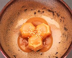 石川芋(里芋)胡麻かけ