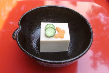 胡麻豆腐(ごまどうふ)